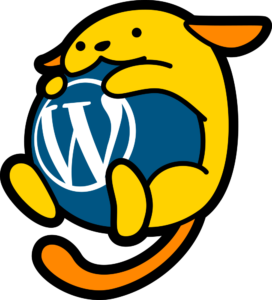 This i Wapuu the mascot of WordPress